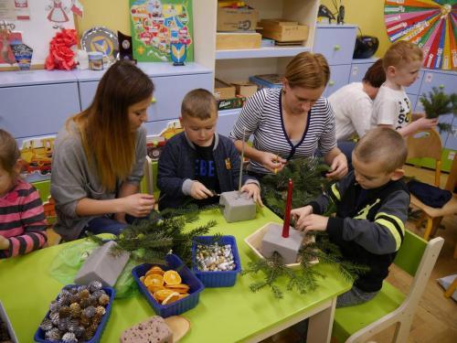 Przedszkole Radgoszcz - świąteczne zajęcia otwarte10