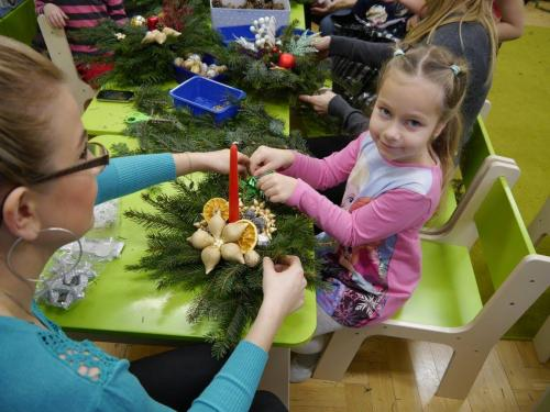 Przedszkole Radgoszcz - świąteczne zajęcia otwarte15