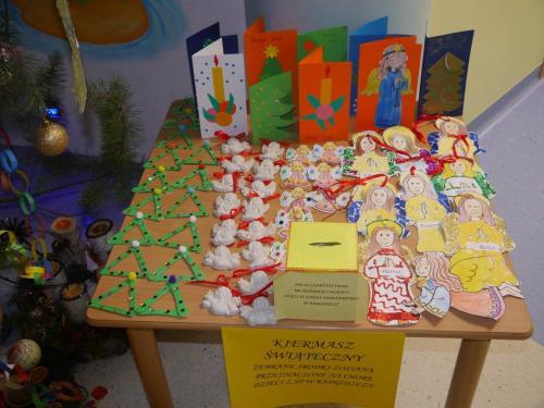 Przedszkole Radgoszcz - kiermasz świąteczny1