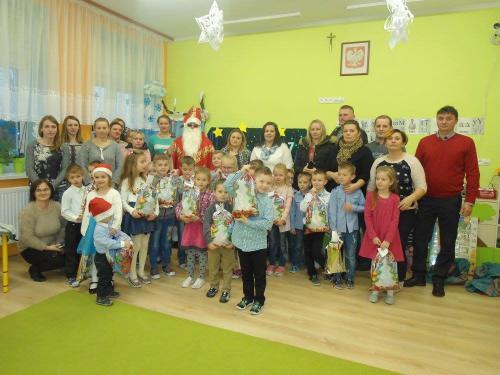 Przedszkole Radgoszcz - wizyta św. Mikołaja10