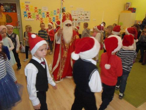 Przedszkole Radgoszcz - wizyta św. Mikołaja13