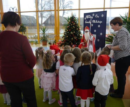Przedszkole Radgoszcz - wizyta św. Mikołaja14