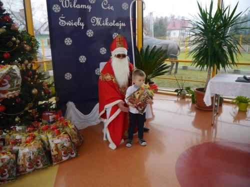 Przedszkole Radgoszcz - wizyta św. Mikołaja17