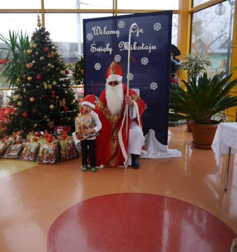 Przedszkole Radgoszcz - wizyta św. Mikołaja19