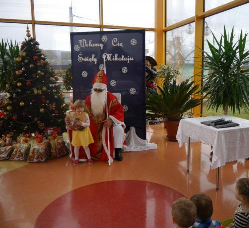 Przedszkole Radgoszcz - wizyta św. Mikołaja21
