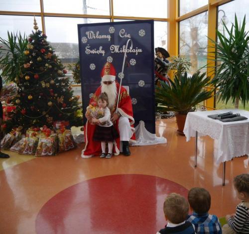 Przedszkole Radgoszcz - wizyta św. Mikołaja22