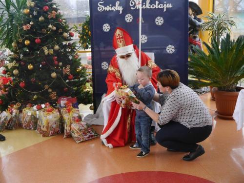 Przedszkole Radgoszcz - wizyta św. Mikołaja26