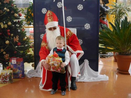 Przedszkole Radgoszcz - wizyta św. Mikołaja34