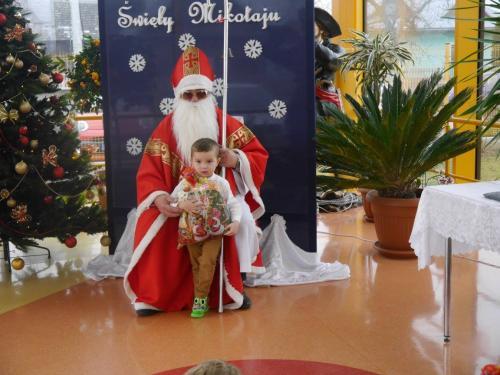 Przedszkole Radgoszcz - wizyta św.Mikołaja38