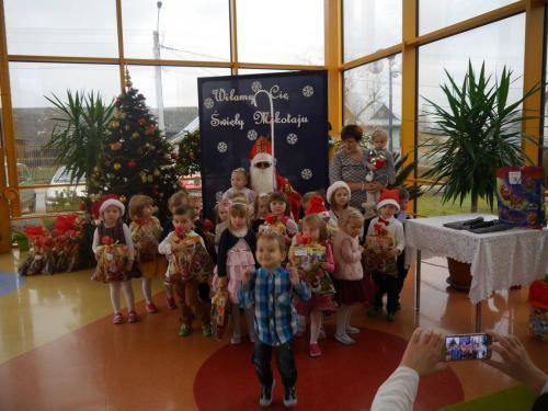 Przedszkole Radgoszcz - wizyta św.Mikołaja39
