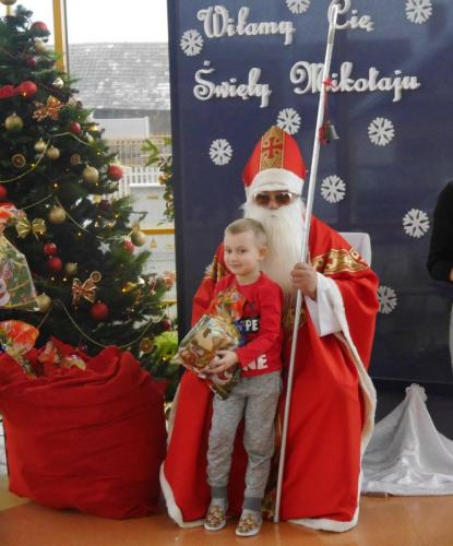 Przedszkole Radgoszcz - wizyta św.Mikołaja41