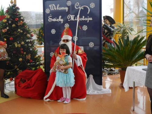 Przedszkole Radgoszcz - wizyta św.Mikołaja49