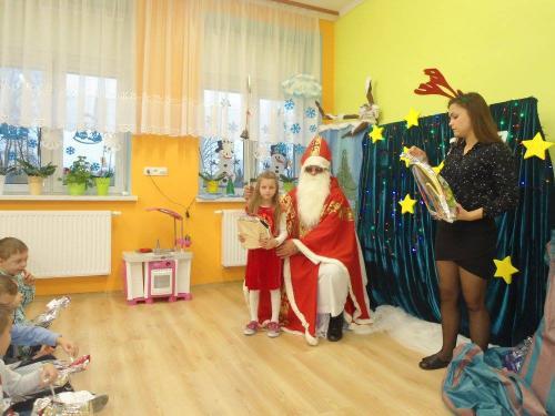 Przedszkole Radgoszcz - wizyta św. Mikołaja5