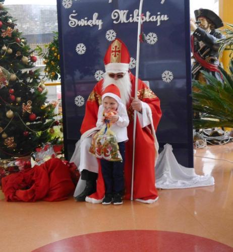 Przedszkole Radgoszcz - wizyta św.Mikołaja57