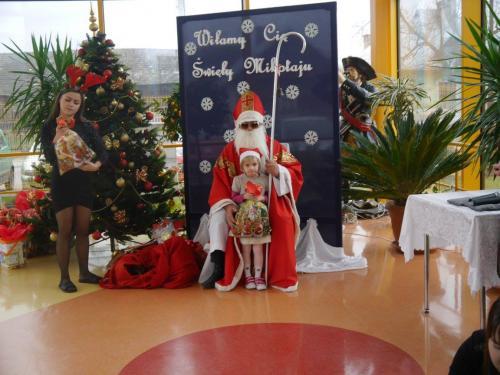 Przedszkole Radgoszcz - wizyta św.Mikołaja58