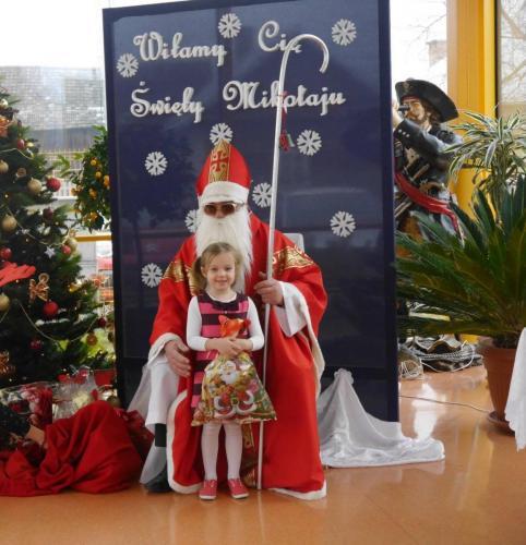 Przedszkole Radgoszcz - wizyta św.Mikołaja60