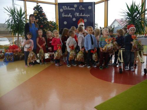 Przedszkole Radgoszcz - wizyta św.Mikołaja66