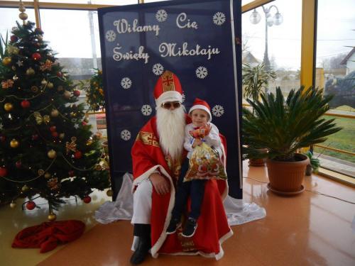 Przedszkole Radgoszcz - wizyta św.Mikołaja67