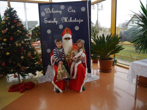 Przedszkole Radgoszcz - wizyta św.Mikołaja68