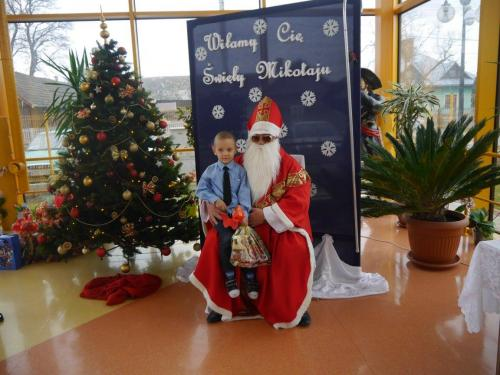 Przedszkole Radgoszcz - wizyta św.Mikołaja69
