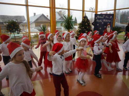 Przedszkole Radgoszcz - wizyta św.Mikołaja72