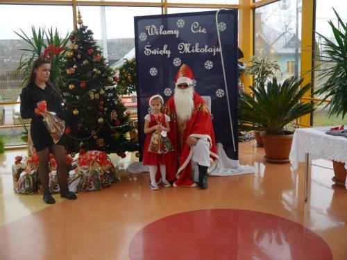 Przedszkole Radgoszcz - wizyta św.Mikołaja75