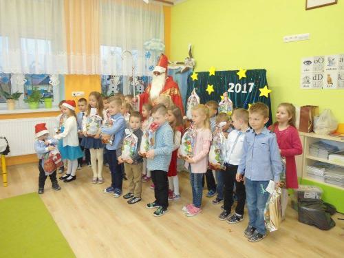 Przedszkole Radgoszcz - wizyta św. Mikołaja8