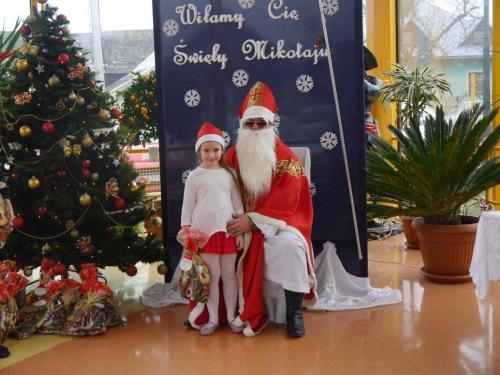 Przedszkole Radgoszcz - wizyta św.Mikołaja80