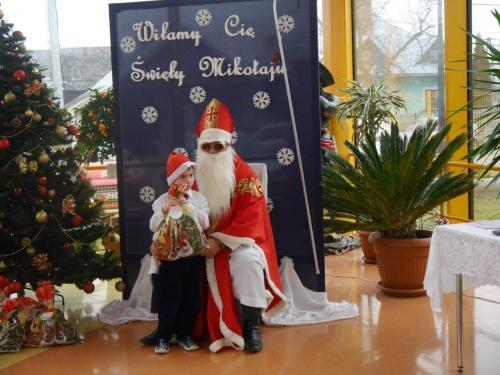 Przedszkole Radgoszcz - wizyta św.Mikołaja81