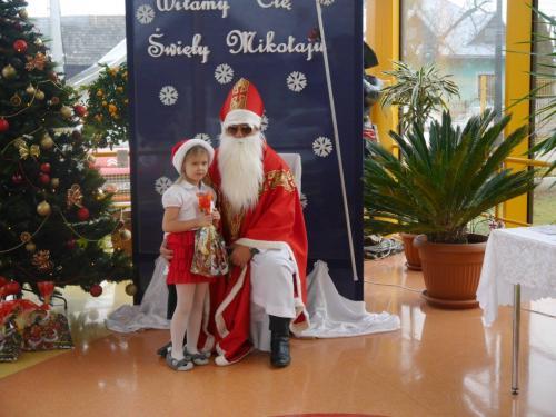 Przedszkole Radgoszcz - wizyta św.Mikołaja82
