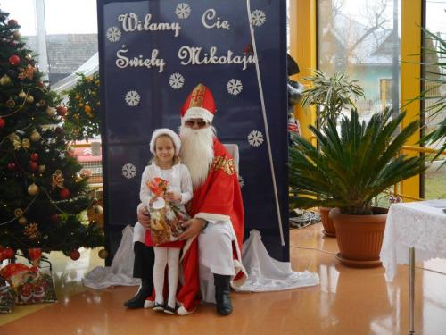 Przedszkole Radgoszcz - wizyta św.Mikołaja83
