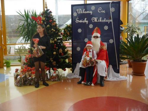 Przedszkole Radgoszcz - wizyta św.Mikołaja84