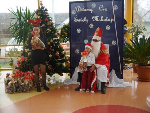 Przedszkole Radgoszcz - wizyta św.Mikołaja85