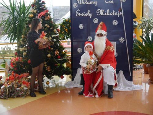 Przedszkole Radgoszcz - wizyta św.Mikołaja86