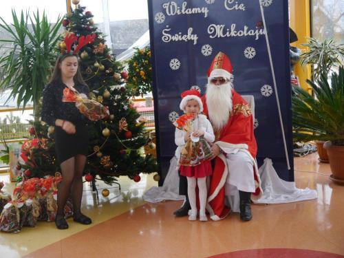 Przedszkole Radgoszcz - wizyta św.Mikołaja88