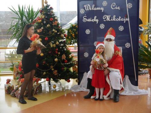 Przedszkole Radgoszcz - wizyta św.Mikołaja91