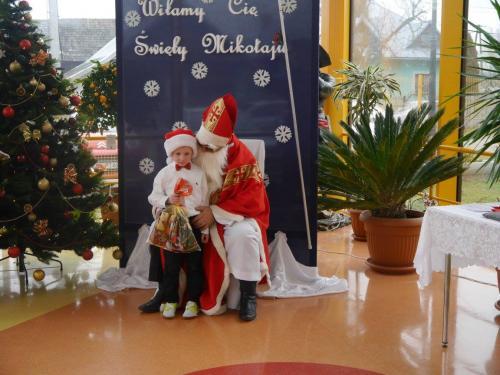 Przedszkole Radgoszcz - wizyta św.Mikołaja92
