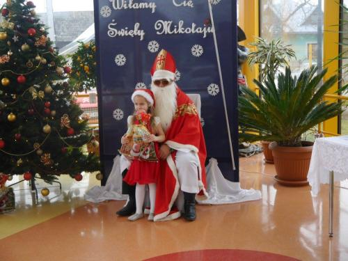Przedszkole Radgoszcz - wizyta św.Mikołaja95