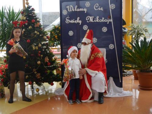 Przedszkole Radgoszcz - wizyta św.Mikołaja97