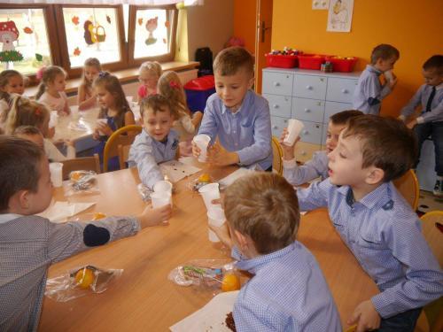 Przedszkole Radgoszcz - zabawa andrzejkowa